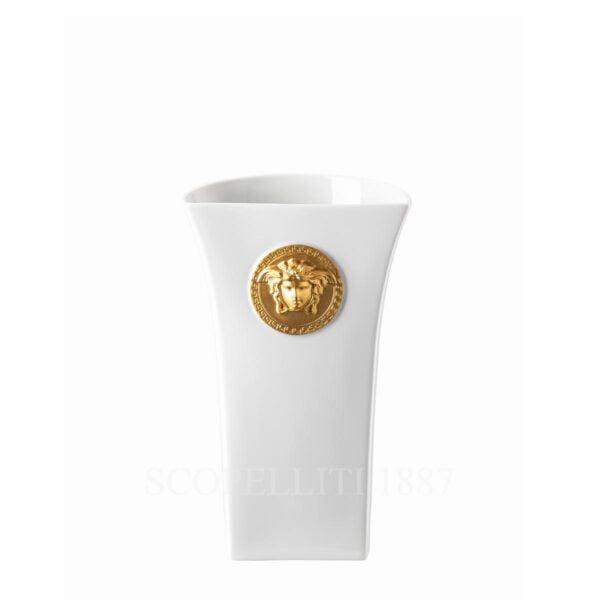 versace vase 34 cm white medusa madness