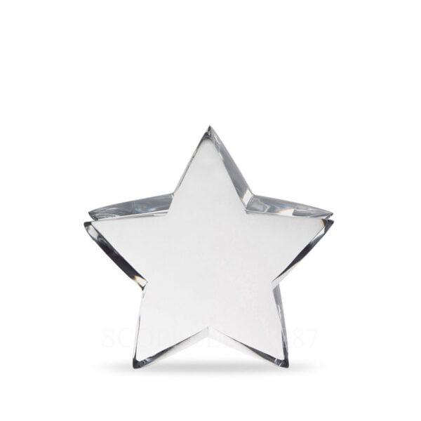 baccarat clear crystal zinzin star