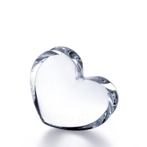 baccarat crystal clear zinzin heart