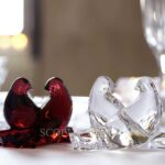baccarat crystal doves