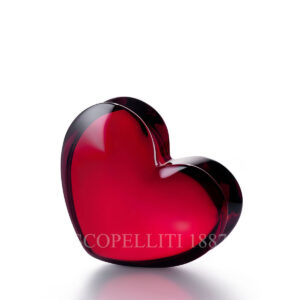 baccarat crystal red zinzin heart