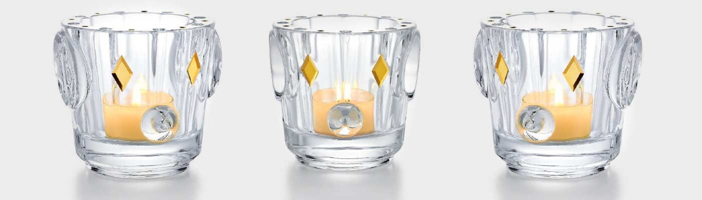 baccarat new candle holder