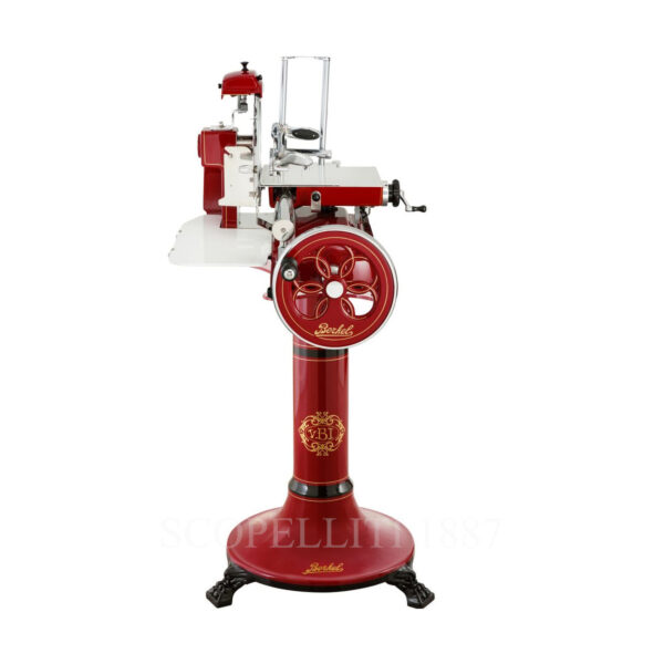 berkel volano b3 meat slicer red with stand