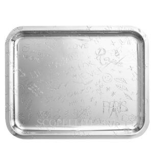 christofle graffiti large tray