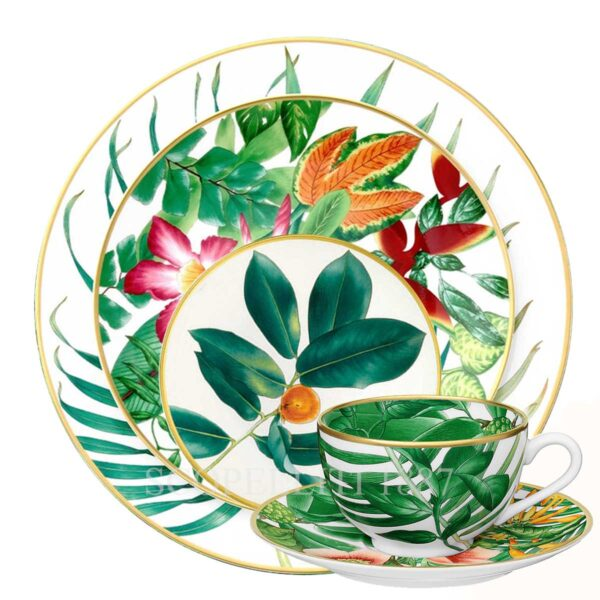hermes 5 piece place setting passifolia