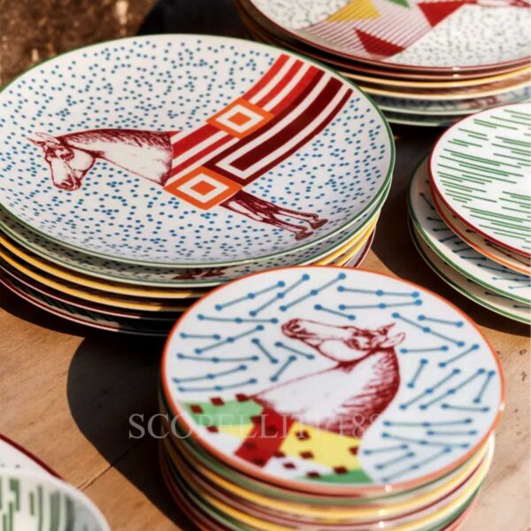 hermes hippomobile tableware collection