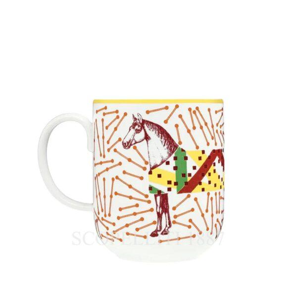 hippomobile hermes mug red