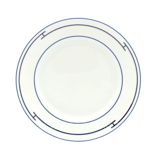 hermes rythme bleu american dinner plate