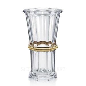 baccarat numbered harcourt gold vase
