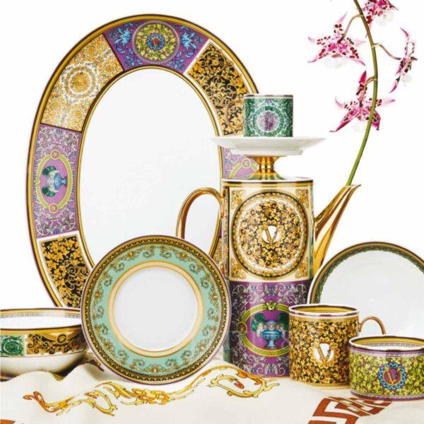 versace barocco mosaic dinnerware