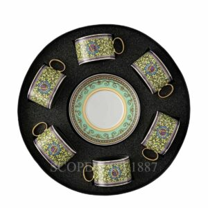 versace barocco mosaic 6 tea gift set