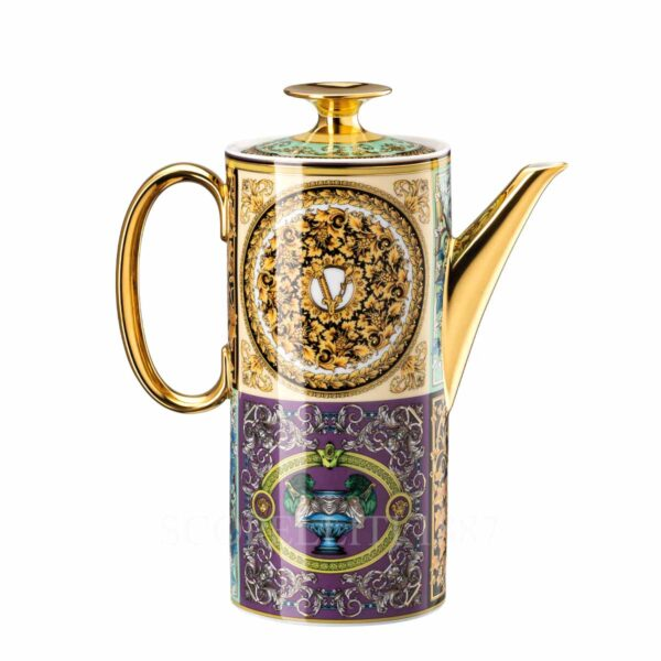 versace barocco mosaic coffee pot
