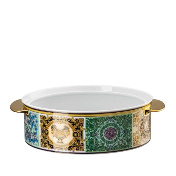 versace barocco mosaic covered vegetable bowl