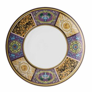 versace barocco mosaic dinner plate