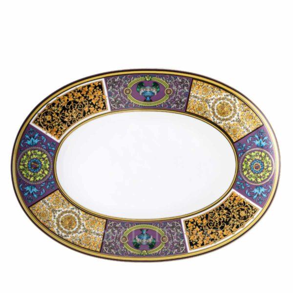 versace barocco mosaic platter 38 cm