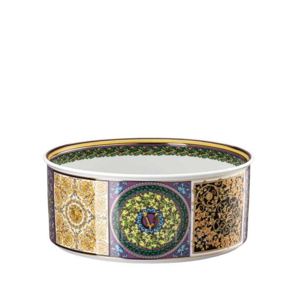 versace barocco mosaic salad bowl 22 cm
