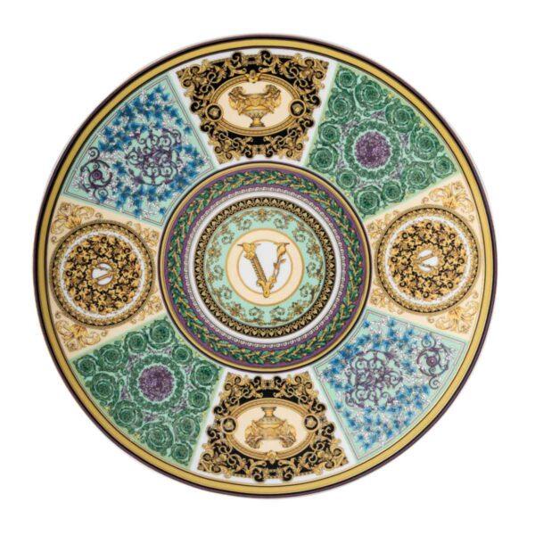 versace barocco mosaic service plate