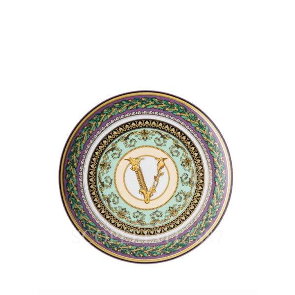 versace barocco mosaic small plate 17 cm