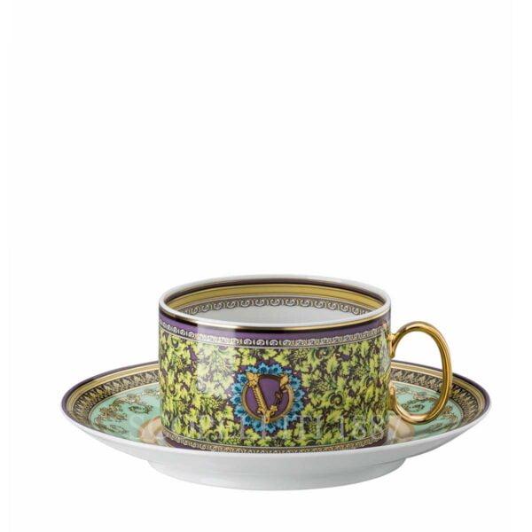 versace barocco mosaic tea cup and saucer