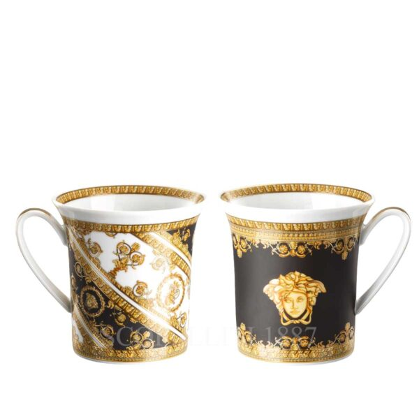 versace i love baroque set of two mugs