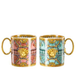 versace la scala del palazzo set of two mugs