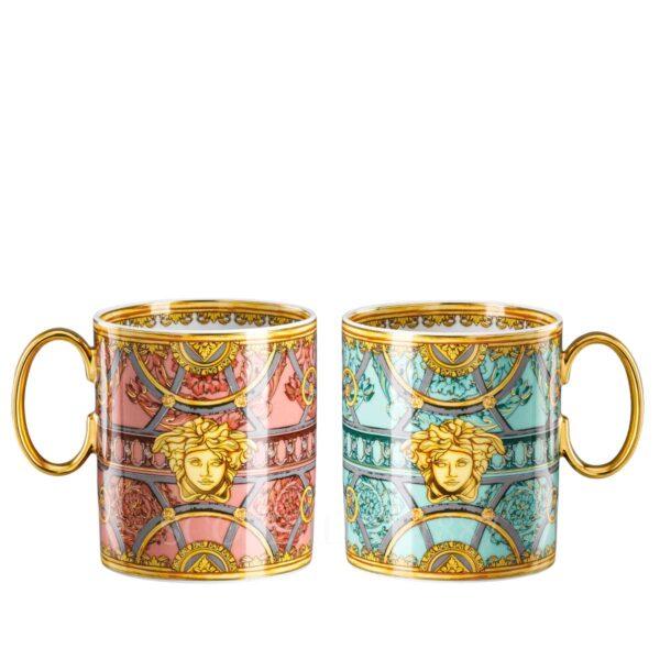 versace la scala del palazzo set of two mugs