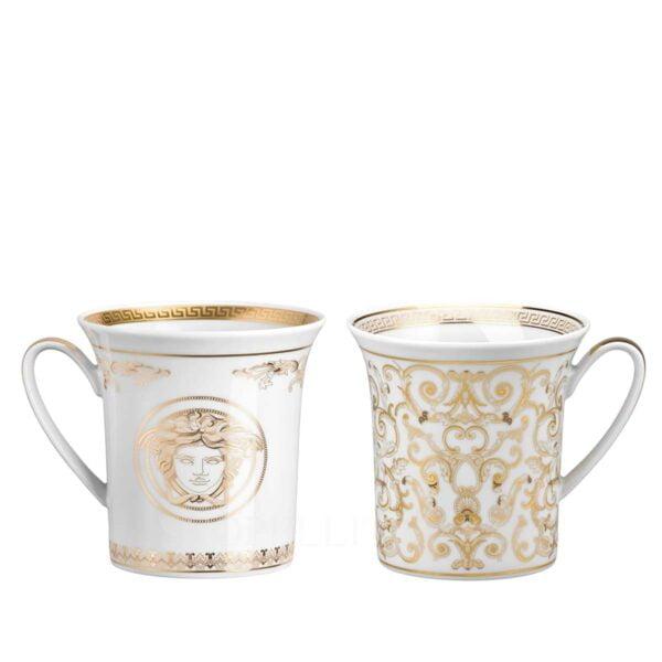 versace medusa gala set of two mugs