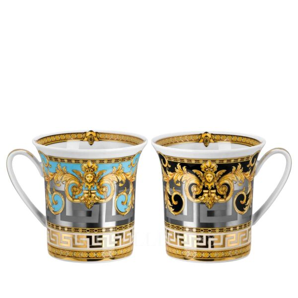 versace prestige gala set of two mugs