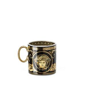 versace virtus gala black espresso cup