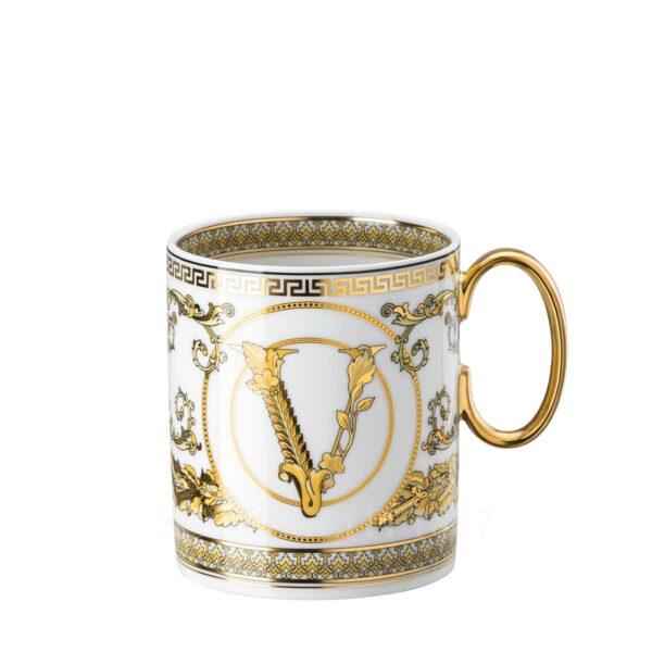 versace virtus gala white mug
