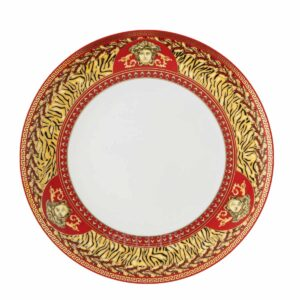 versace virtus holiday dinner plate 28 cm