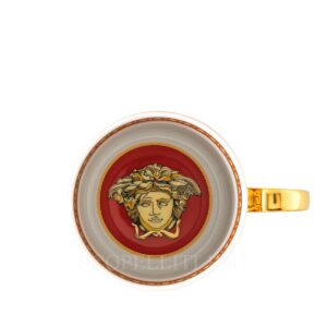 versace virtus holiday mug