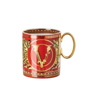 versace virtus holiday mug