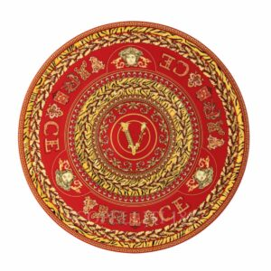 versace virtus holiday tart platter