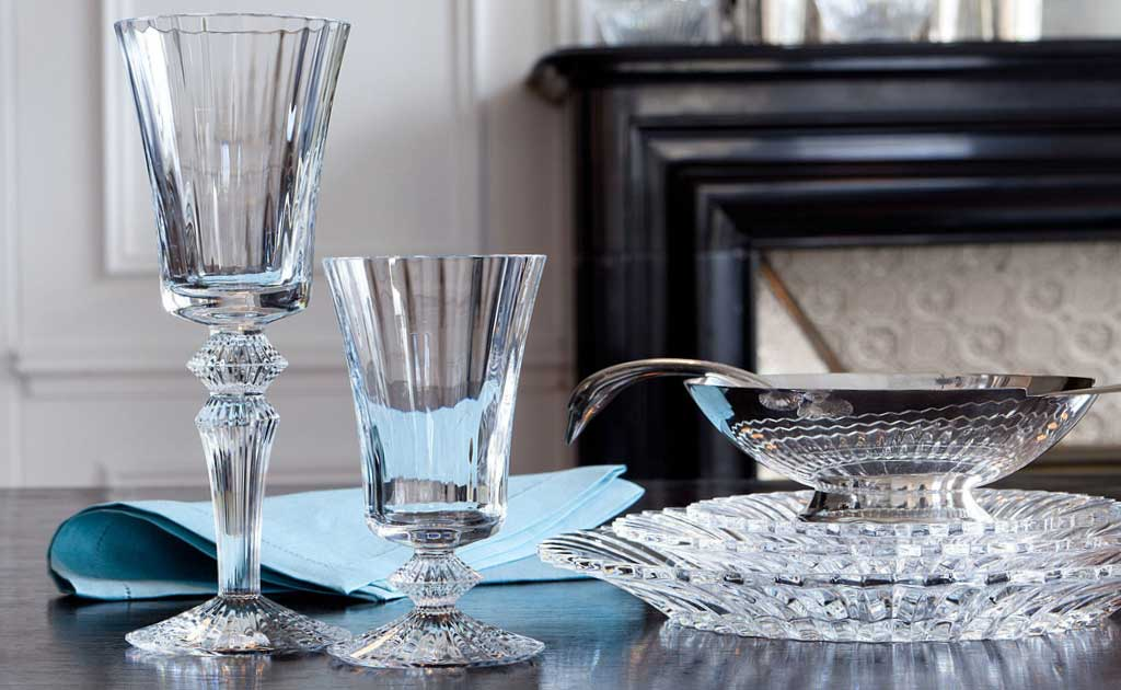 baccarat crystal ware