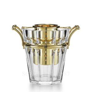 baccarat harcourt champagne cooler gold