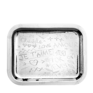 christofle graffiti medium tray