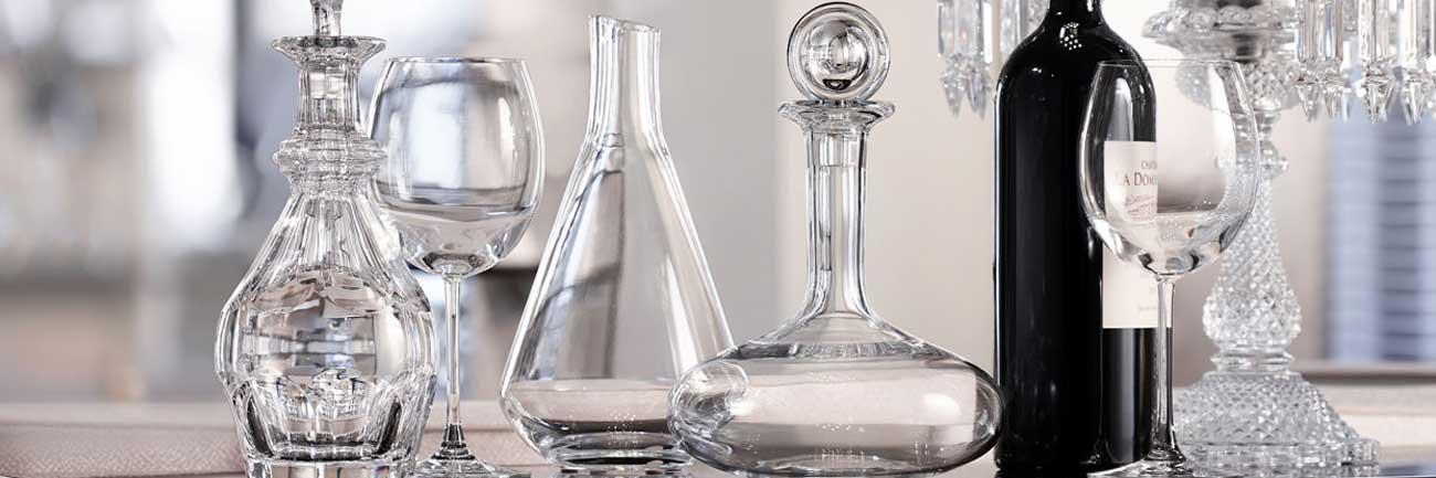 luxury crystal ware