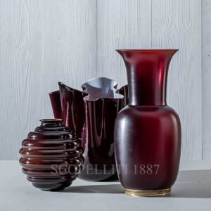 venini ox blood red new colour collection