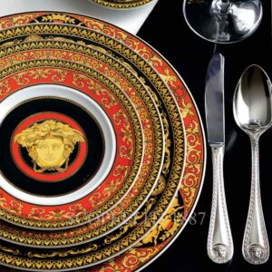versace cutlery medusa silver plated
