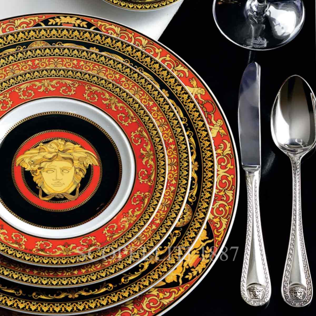 versace cutlery medusa silver plated