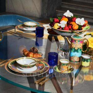 versace jungle animalier dinnerware collection