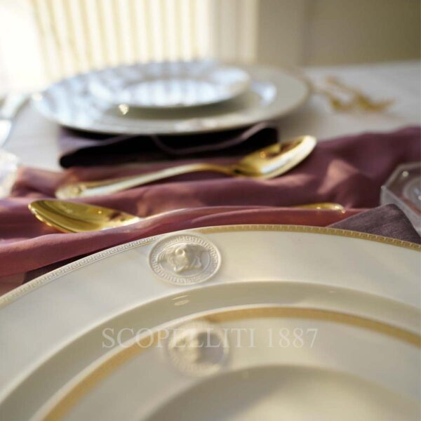 versace medaillon meandr d'or dinnerware