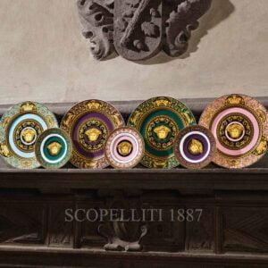 versace medusa colours plates