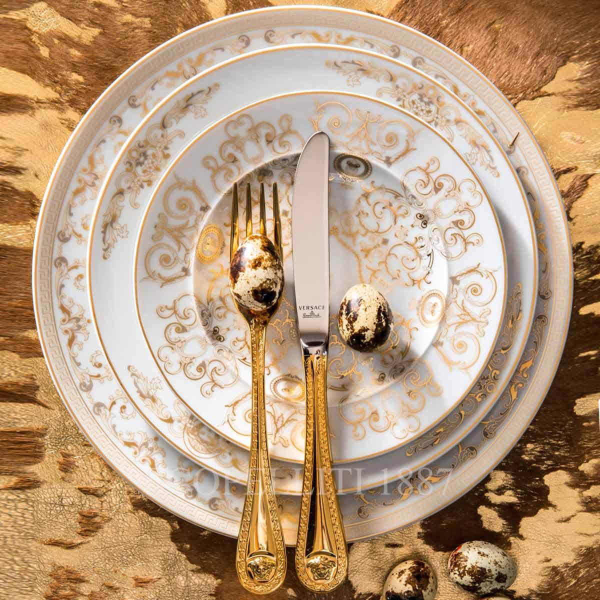 versace medusa gala dinnerware