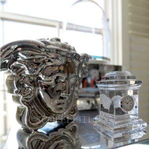versace medusa madness vase silver