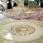 versace plate medusa gala