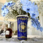 versace vase 30 cm medusa blue