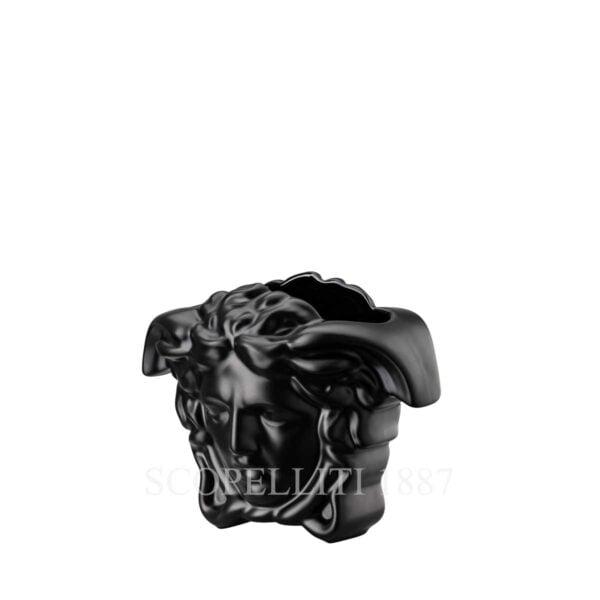 versace vase 9 cm black medusa grande