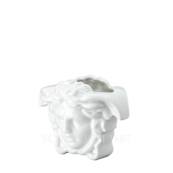 versace vase 9 cm white medusa grande